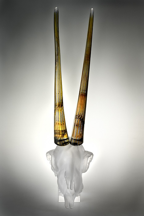 Antelope Crystal Scull