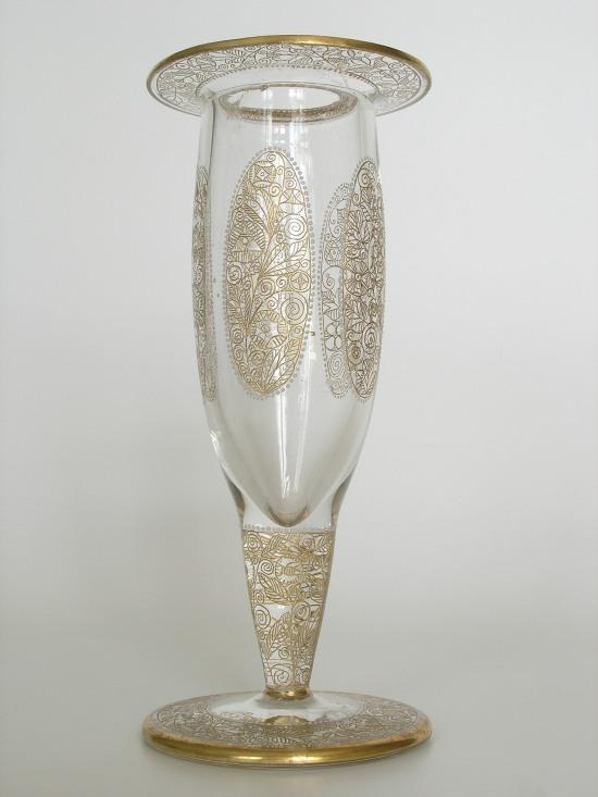 Vase from the Glass Museum in Kamenicky Senov