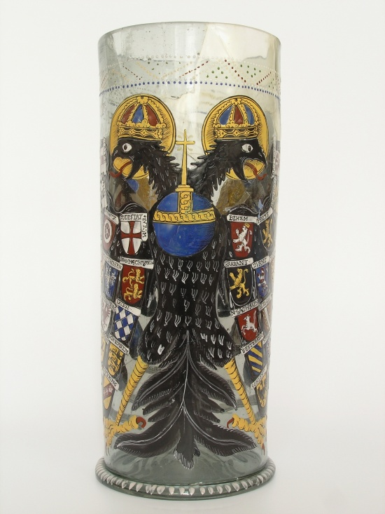 Imperial Eagle Beaker from the State Castle Pernstejn
