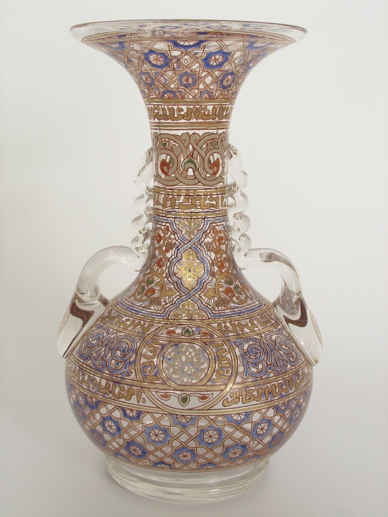 Vase from the Glass Museum in Novy Bor